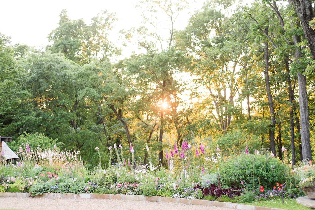 """The flower garden's success is due to Pratt Brown Landscape's maintenance department that is always making seasonal adjustments to provide a never-ending supply of color throughout the year,"""" says John."""