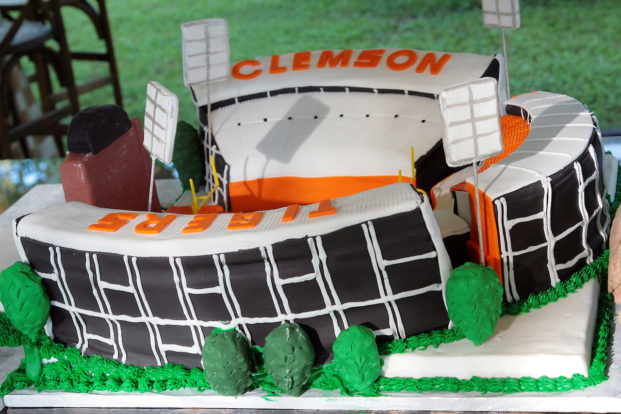 The perfect cake for a Clemson football fan!