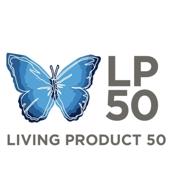 Living Products LP 50 Logo