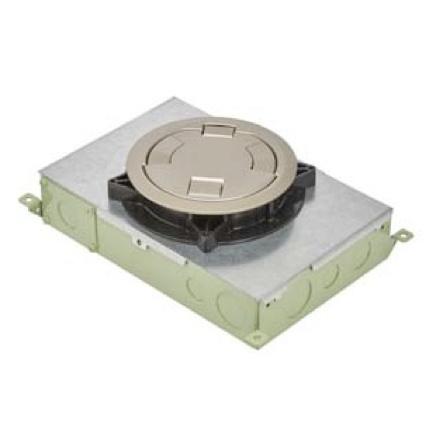 Concrete floor box