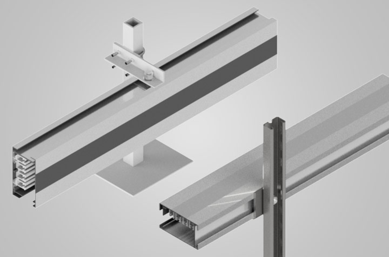 Image showing T3 busway mounting options available