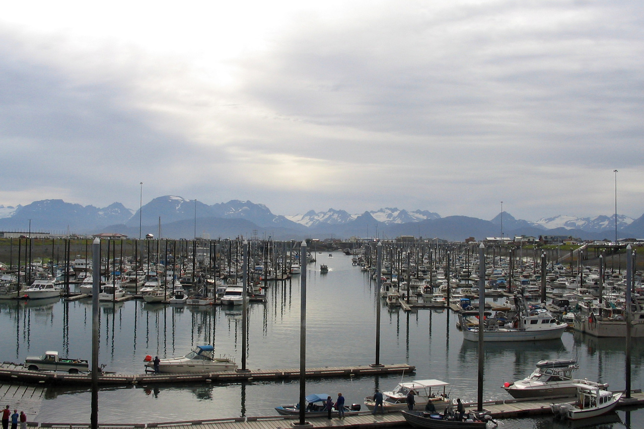 Alaskan waterfront. Photo: NOAA Fisheries/Dan Lew.