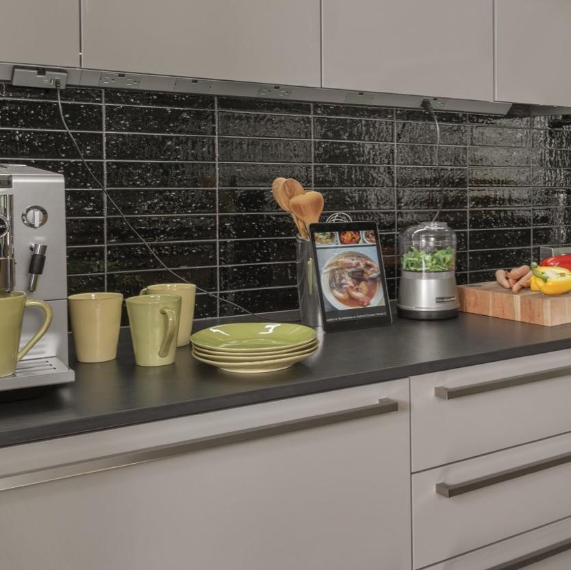 Under Cabinet Outlets for modern kitchen