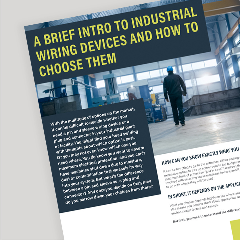 Industrial Wiring Devices White Paper