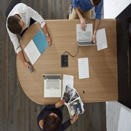 InteGreat Series Products in meeting space
