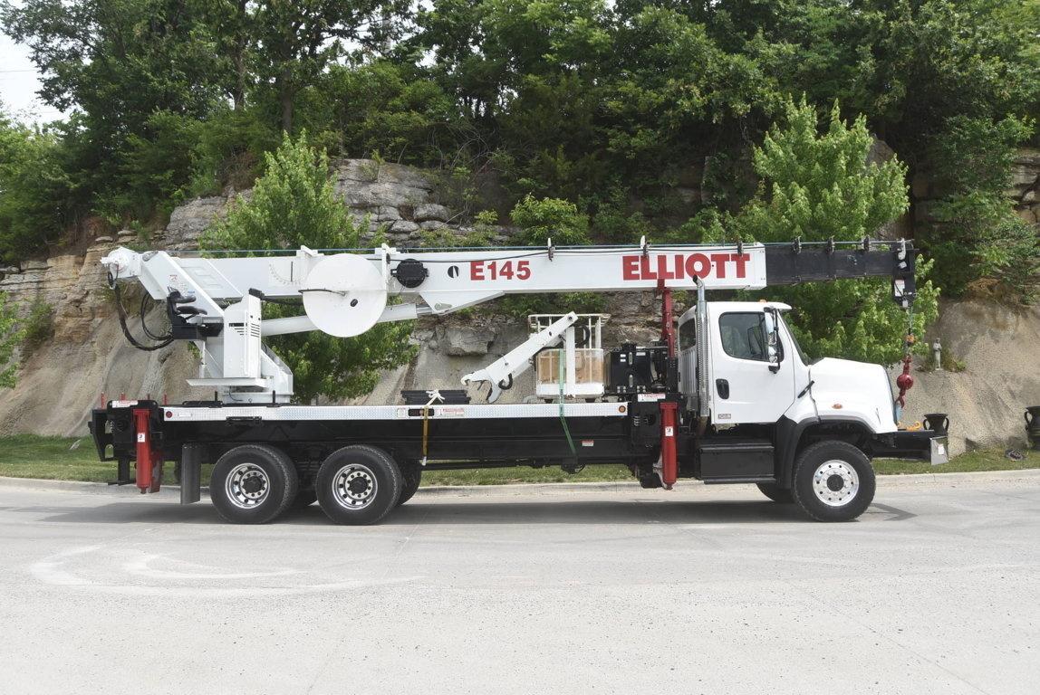 Elliott E145 E-Line Aerial Device on 2015 Freightliner 108SD 6x6