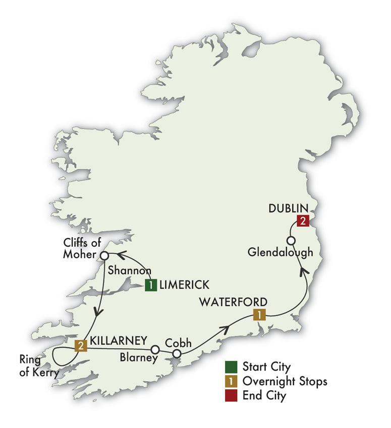 2021 Irish Heritage - 7 Days/6 Nights