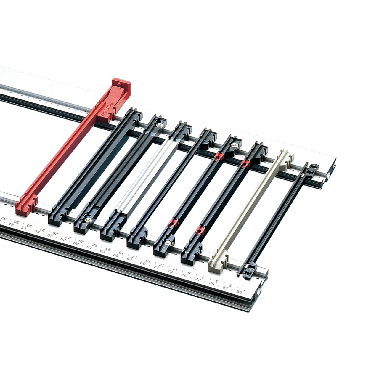 Image for Inpac guide rails from Schroff - Asia Pacific