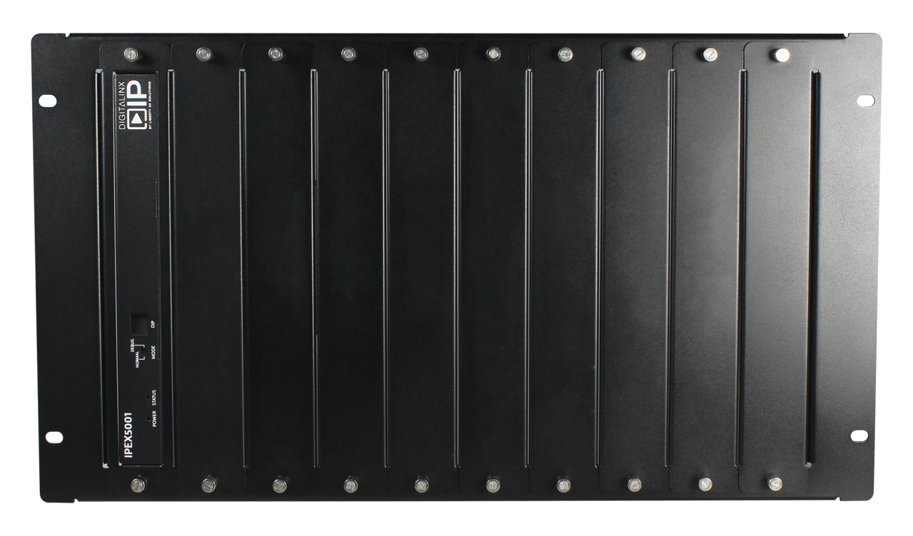 DL-HDRKUNV6 - Universal 6U Rack Mount Chassis For Up to 10 Digitalinx or DigitalinxIP Devices