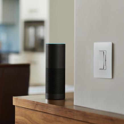 radiant smart lighting with WiFi smart switch with amazon alexa
