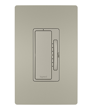 Smart Tru-Universal Dimmer, Wi-Fi, Nickel