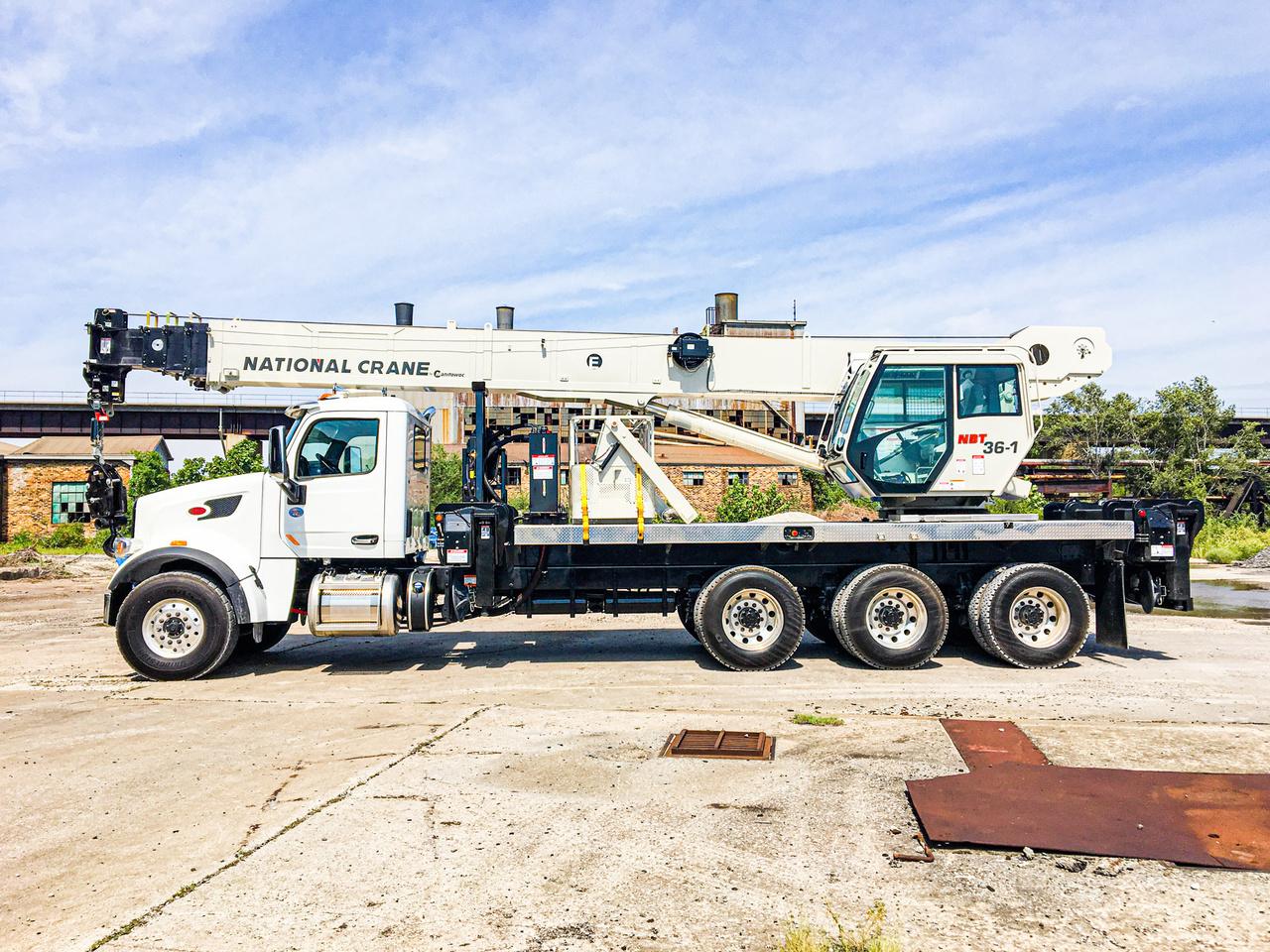 2019 Peterbilt 567 8x6 National NBT36127 Boom Truck