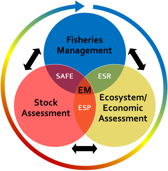 Ecosystem and Socioeconomic Profile Communication Feedback Loop Venn diagram