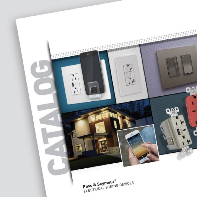 Desktop image of Pass & Seymour product catalog