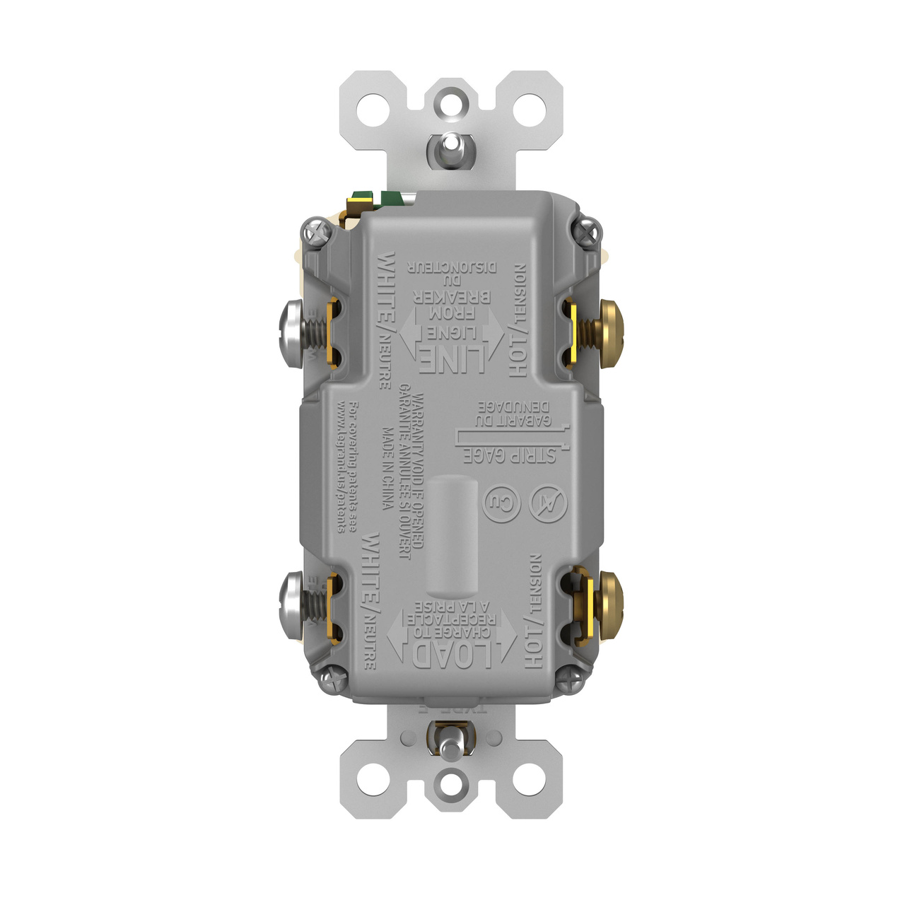 Pass /& Seymour HOSPITAL GRADE TYPE A//C USB CHARGING RECEPTACLES LIGHT ALMOND