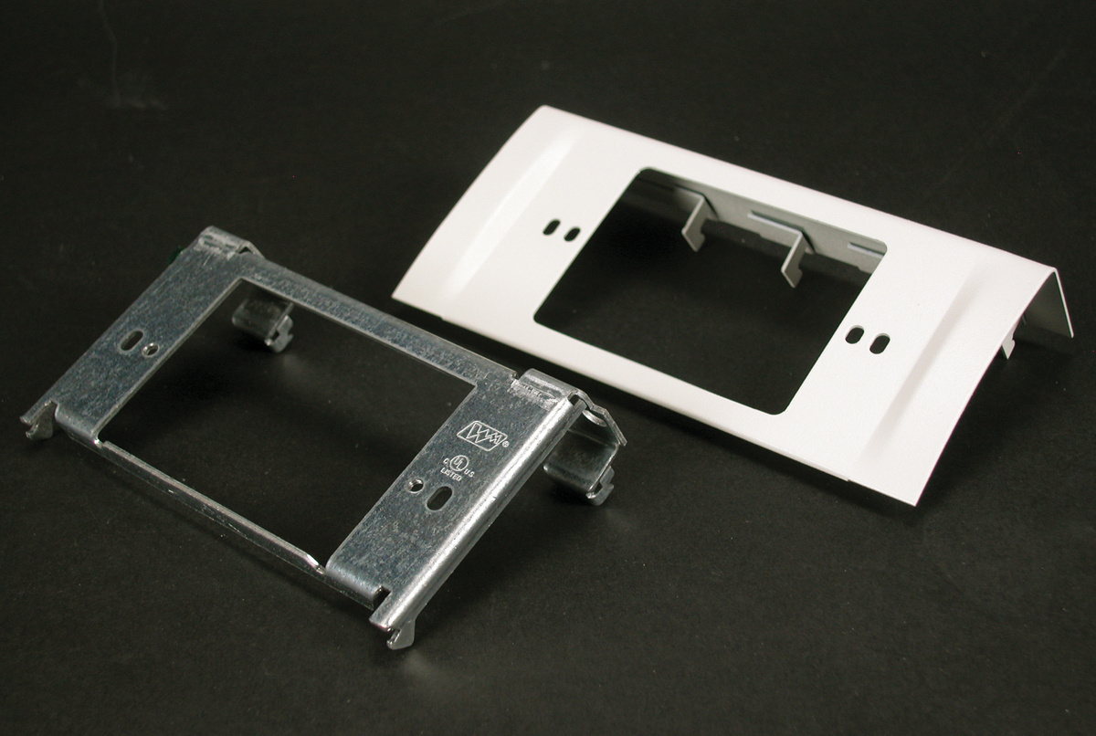 DS4000 Single-Channel NEMA Device Plate, DS4047C-DV
