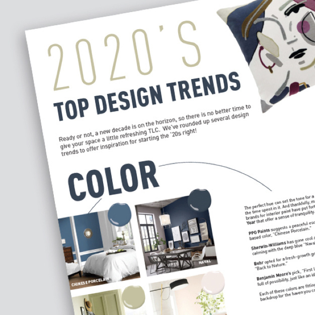 cover of Legrand 2020 Top Design Trends article