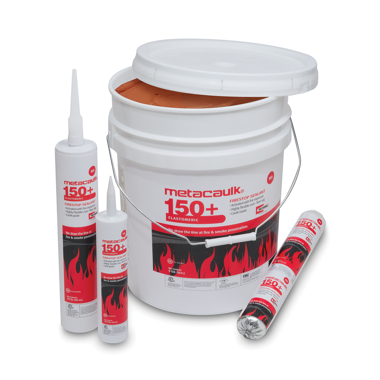 Metacaulk® MC 150+ Firestop Sealant Red