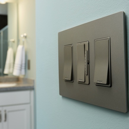 radiant light switches and dimmer