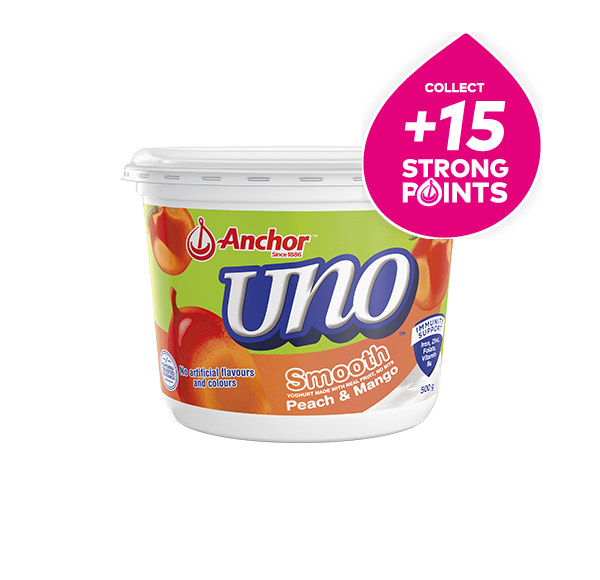 Anchor Uno Mixed Berry Yoghurt 500g