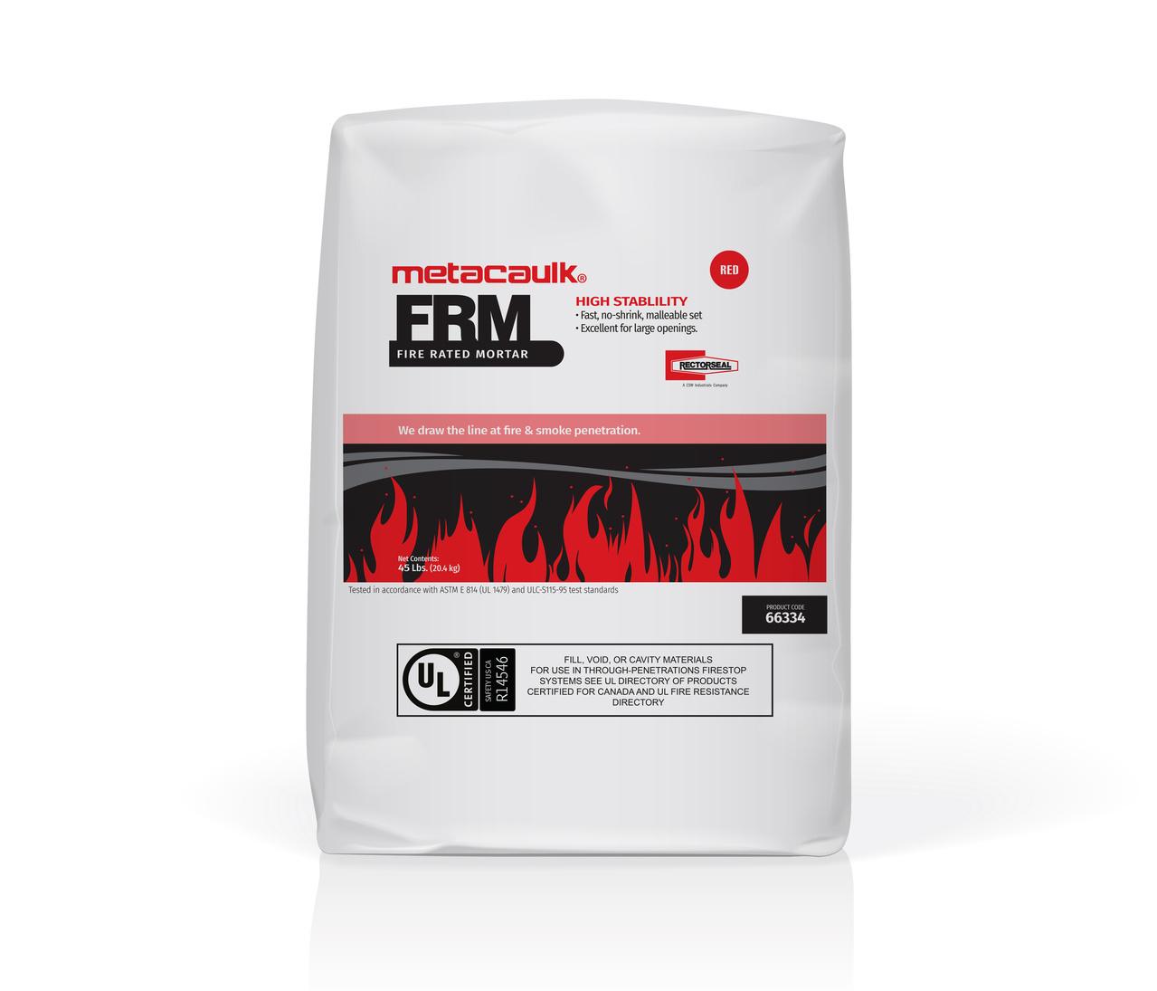 Metacaulk® FRM Fire Rated Mortar