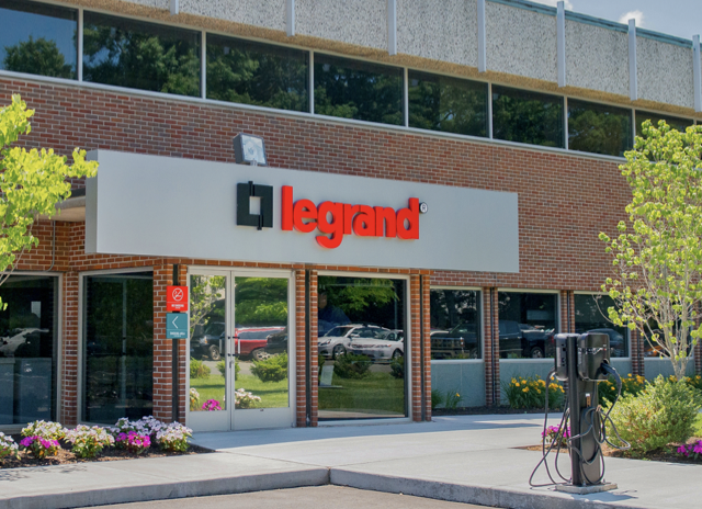 Legrand office entrance