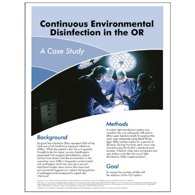 Maury Reduced SSI With Continuous Environmental Disinfection Clinical Study
