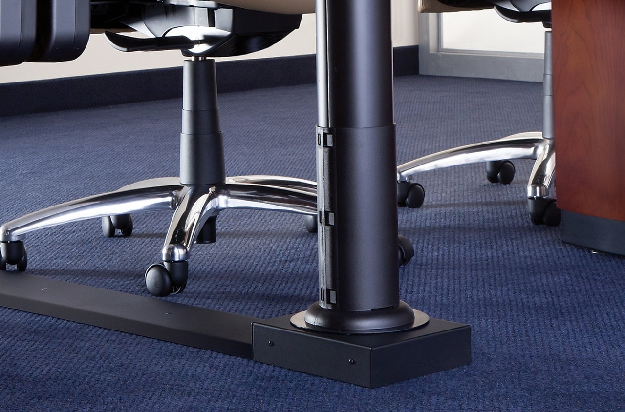 integreat transition channel on table legs