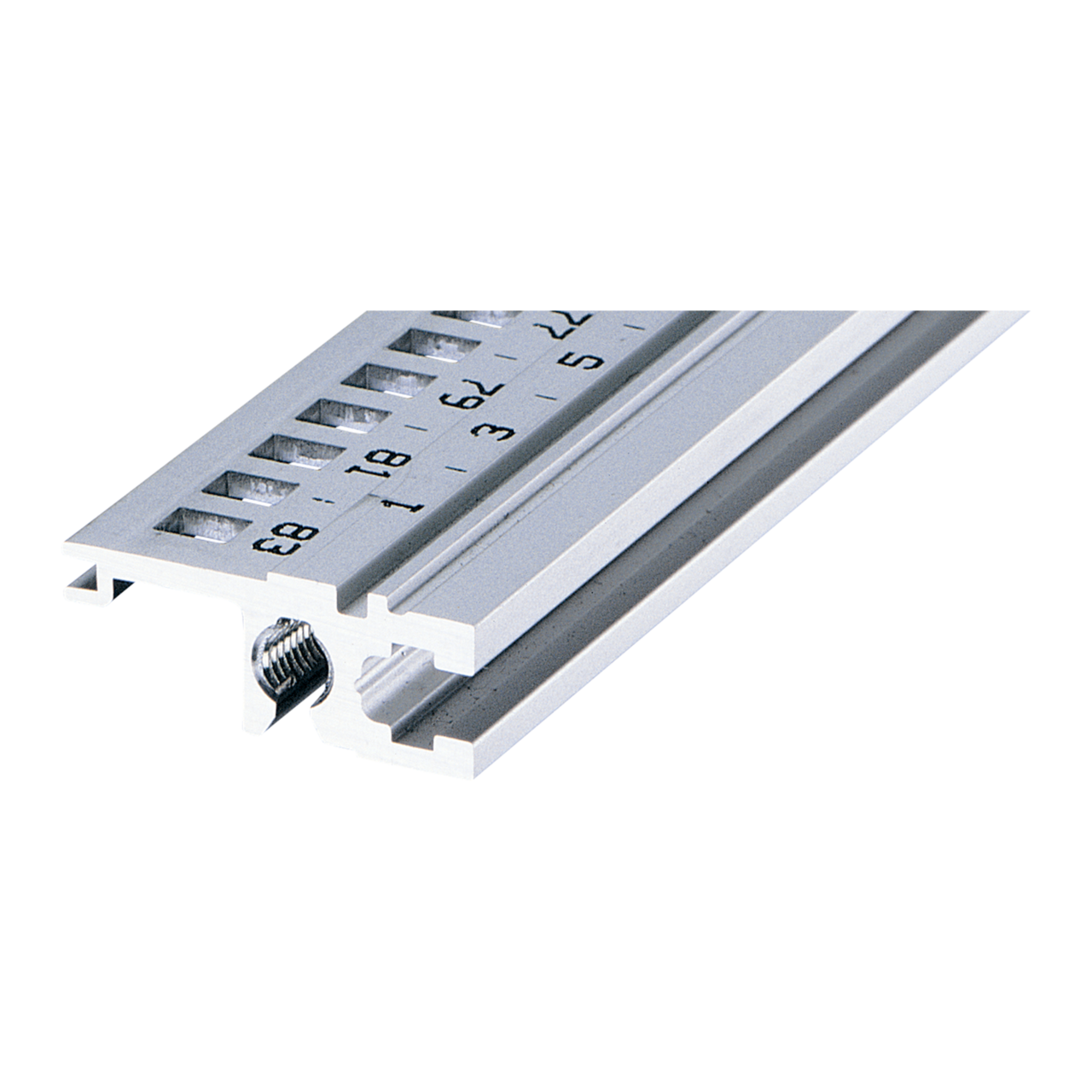 Imagen para Horizontal rail, rear, type L-ST, light, standard de Schroff - Norteamérica