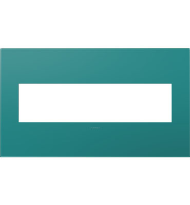 adorne 4-Gang Turquoise Wall Plate