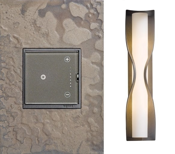 adorne Hubbardton Forge Burnished Steel Wall Plate