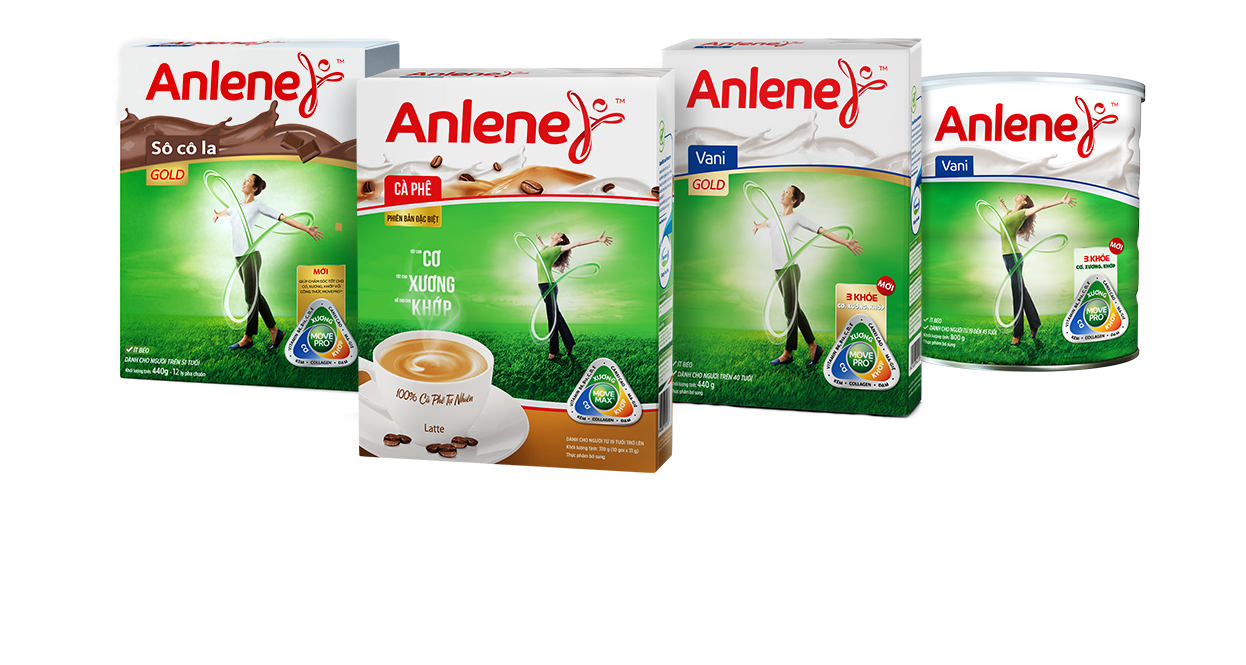 Sữa bột Anlene 3 Khỏe