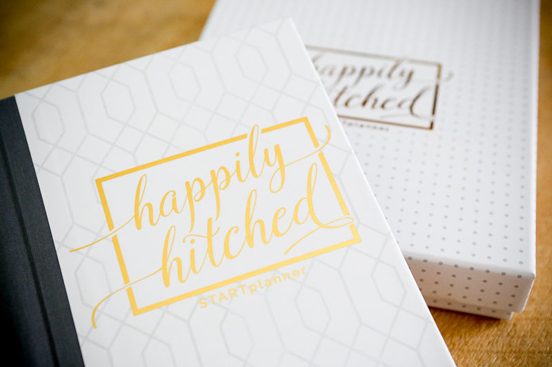 The Happily Hitched wedding planner launches this week!