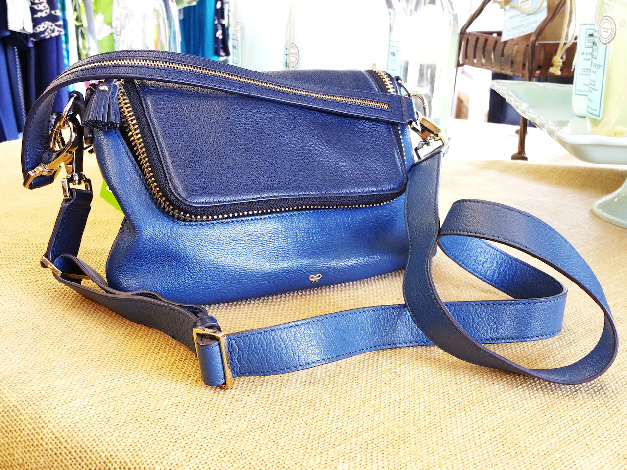 Anya Hindmarch purse, $275, at Second Hand Rose