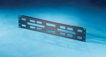 "200-pair 19"" x 3.5"" Rack Mount Panel without 110 blocks, OR-30600167"