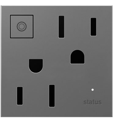 adorne Magnesium Wireless Outlet