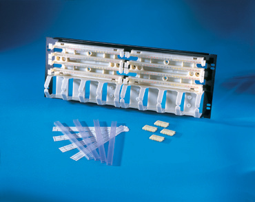 "200-pair 19"" Rack Mount 110 Field Termination Block/Panel Kit (110C5), OR-302003253"
