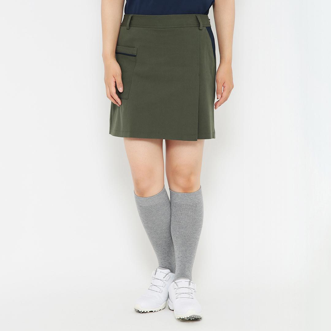 CALLAWAY 8WAYストレッチツイル スカート見えショートパンツ (WOMENS)