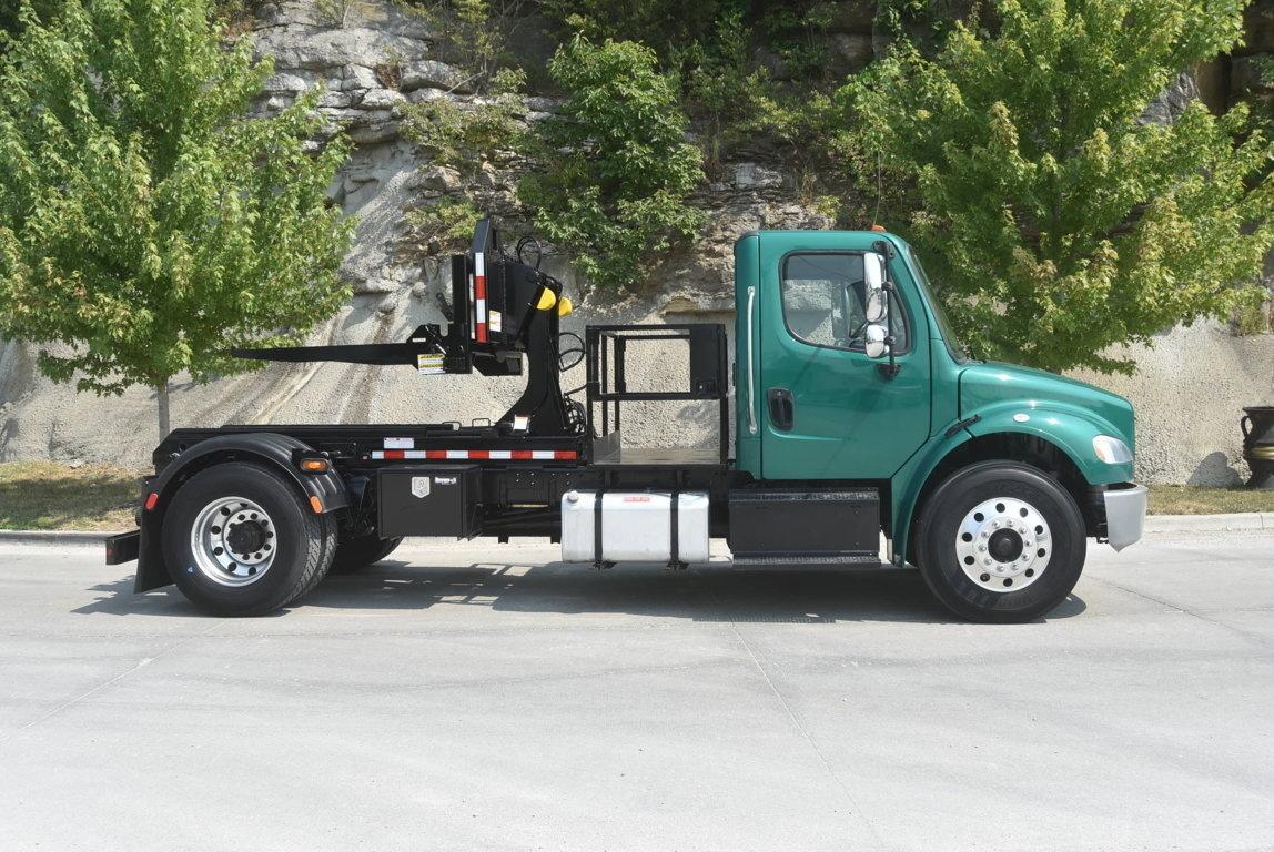 2015 Freightliner M2106 4x2 Galbreath SLCH-93 Container Handler Truck