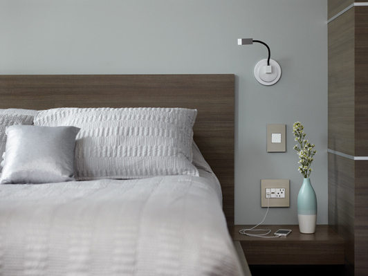 Adorne Light Switches  Outlets  and Wall Plates in hotel bedroomadorne  Touch  Wi Fi Ready Switch Master  White   Legrand   Legrand. Adorne Lighting Control. Home Design Ideas