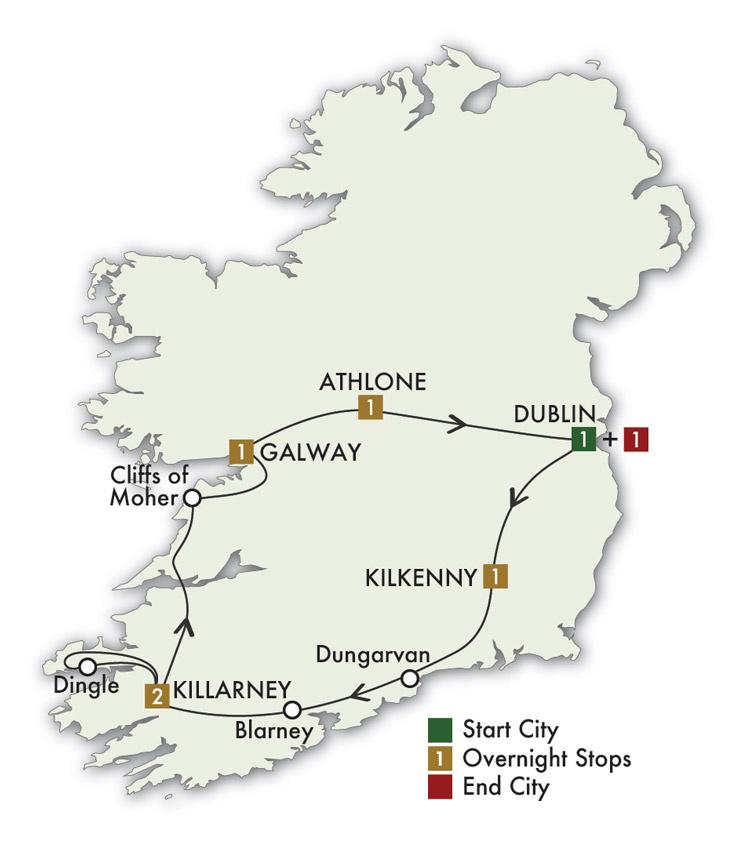 2021 The Irish Pub Tour- 8 Days/7 Nights
