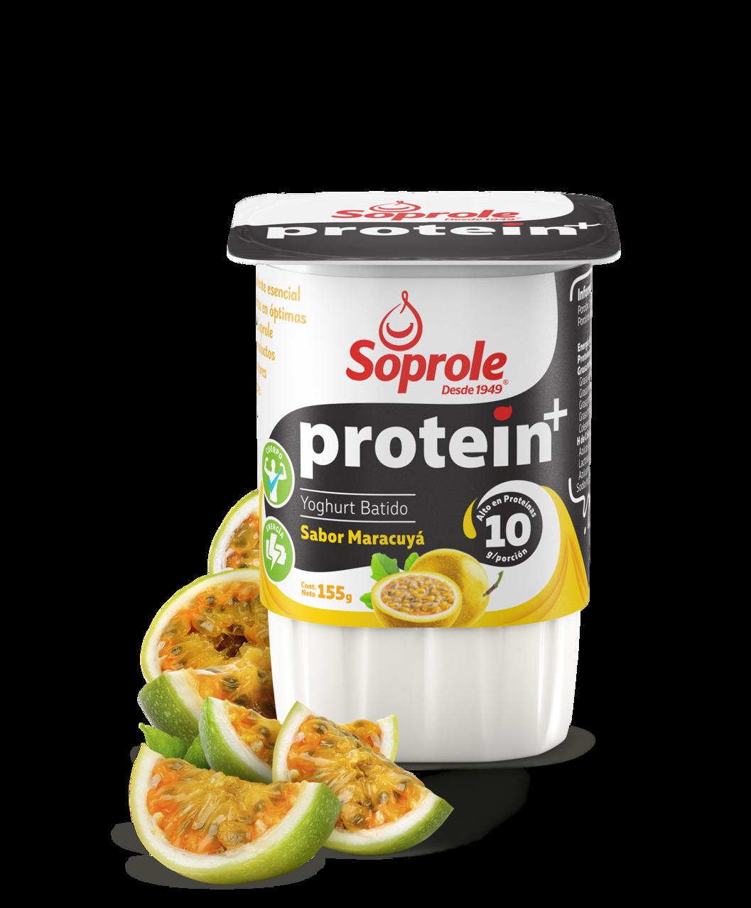 Soprole Yoghurt protein+ batido maracuya 155