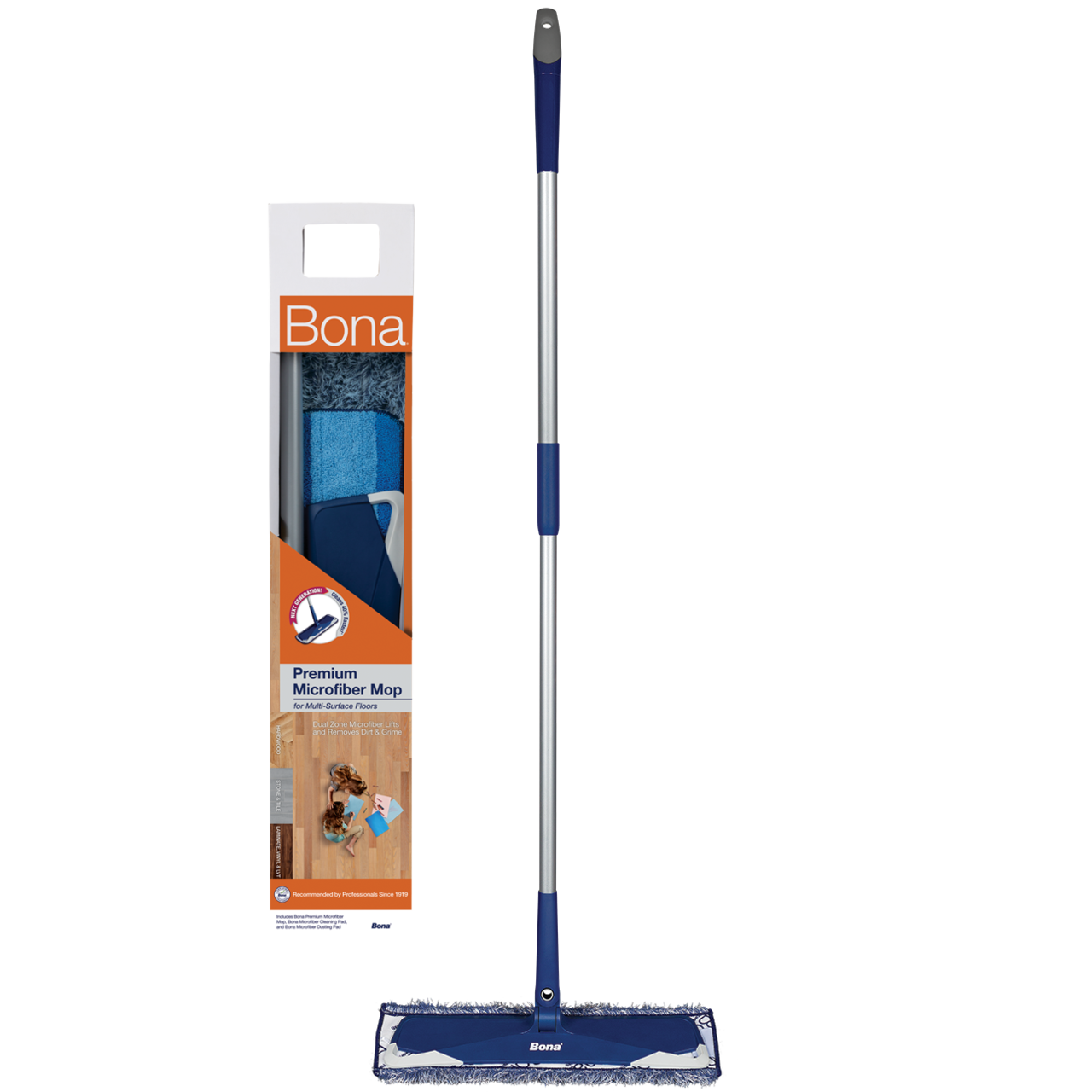 Bona® Premium Microfiber Mop for Multi-Surface Floors