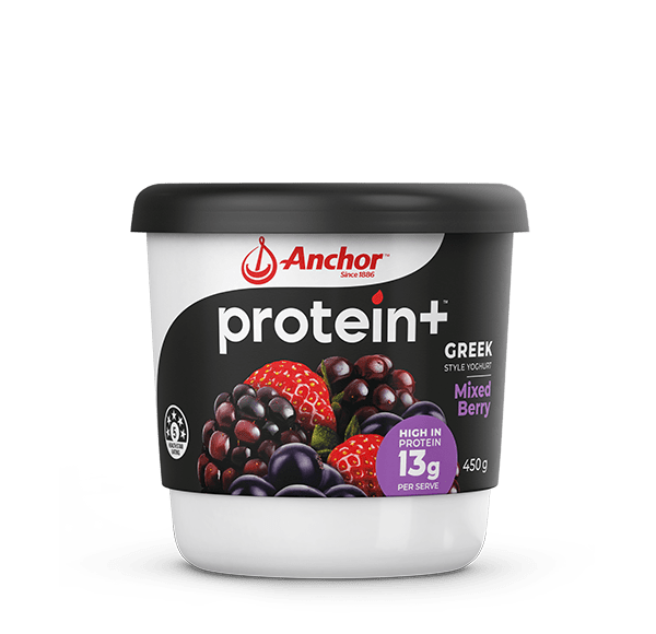 Anchor Protein+ Mixed Berry Yoghurt 450g pack