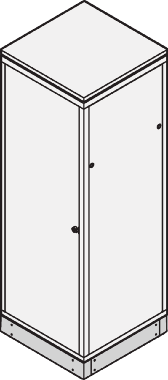 Image for Base/plinth plain (Eurorack) from Schroff - Asia Pacific