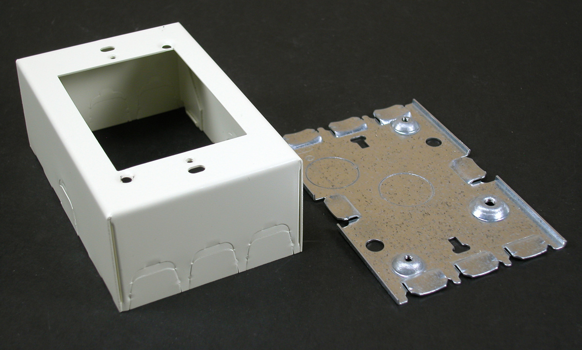 Combination Switch & Receptacle Box, 5745
