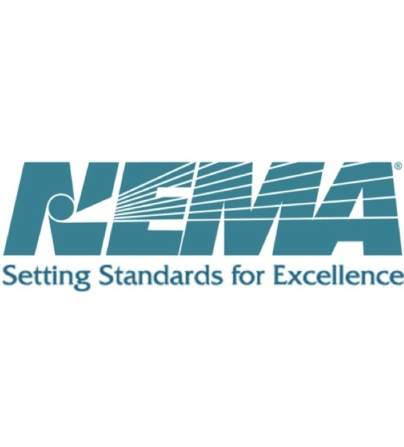 Text logo for NEMA: Setting Standards for Excellence