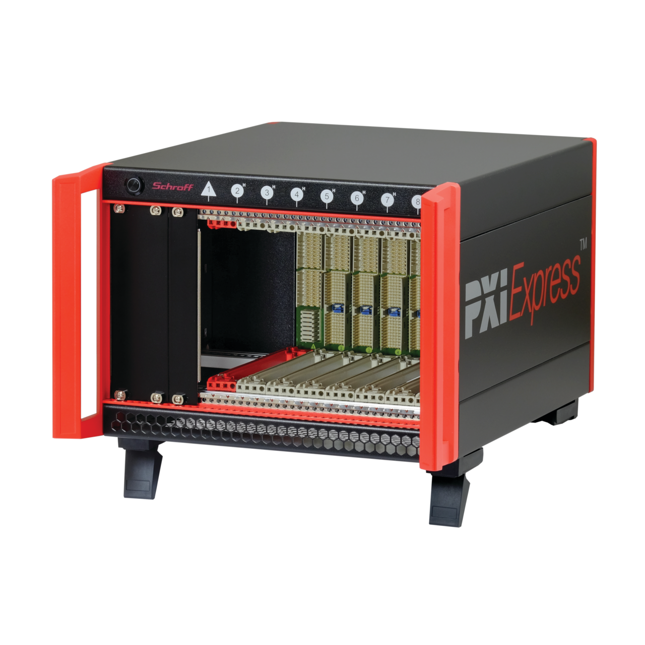 Image for PXI-Express system, 4 U, 8 slot, 44 HP from Schroff - Asia Pacific