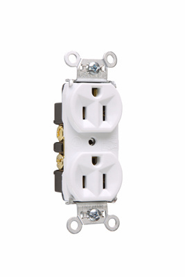 Hard Use Spec Grade Receptacle Back Amp Side Wire 15a