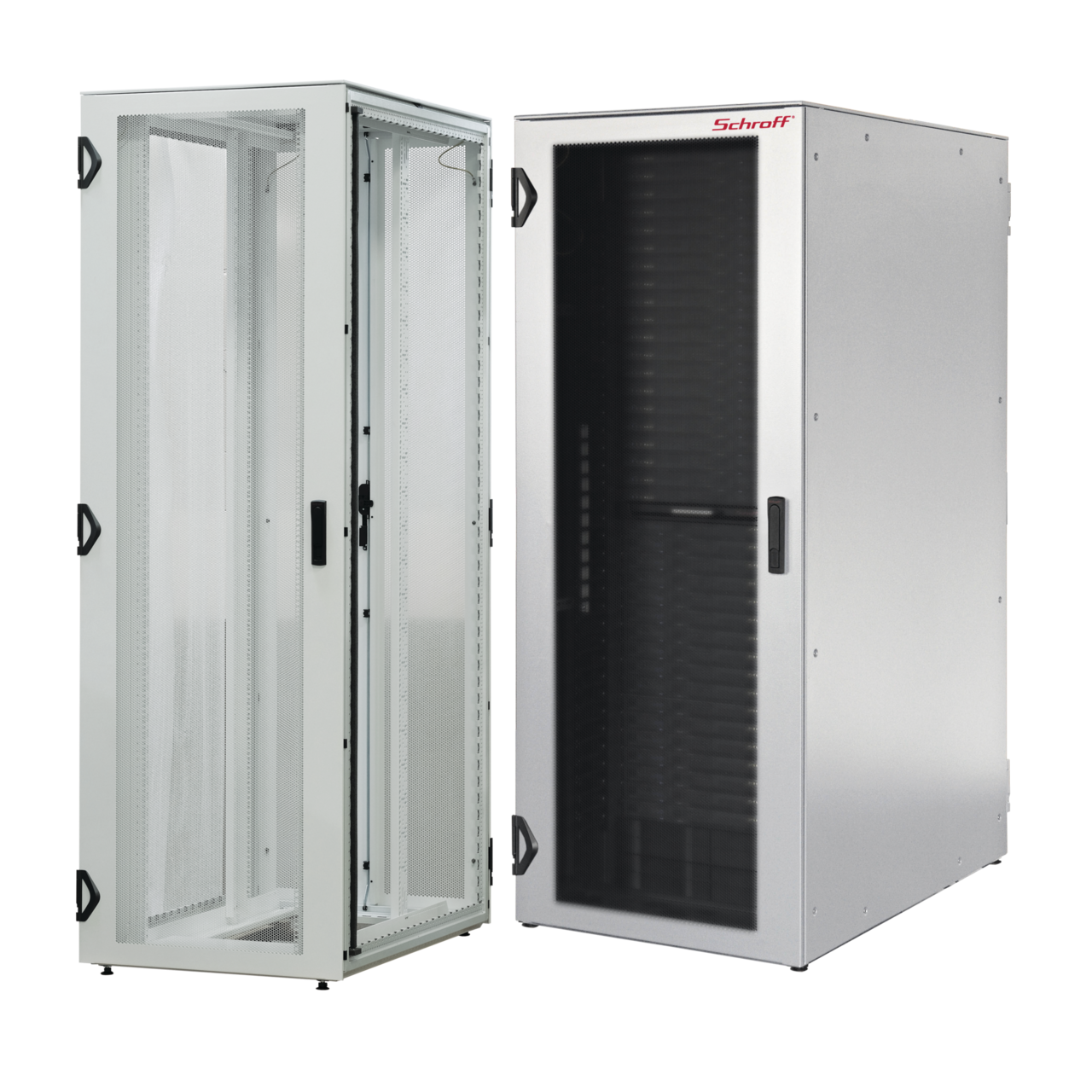 Image for VARISTAR Server, RAL 7035, 1600 kg, side-by-side cabinet, single cabinet from nVent SCHROFF | Europe, Middle East, Africa and India